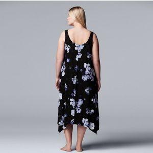 Vera Wang Maxi Chemise Nightgown NWT 3X